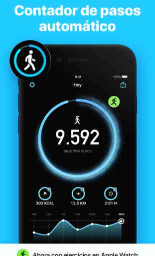 StepsApp Pedometer & Step Counter image 1