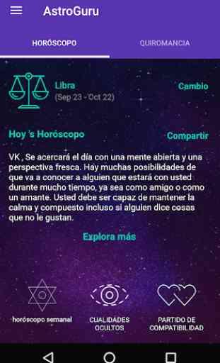 AstroGuru:Horóscopo+Quiromancia 1