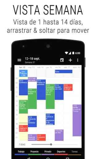 Calendario Business Agenda・Organizador & Widget 2