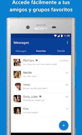 PlayStation Messages - Ve qué amigos están online 3