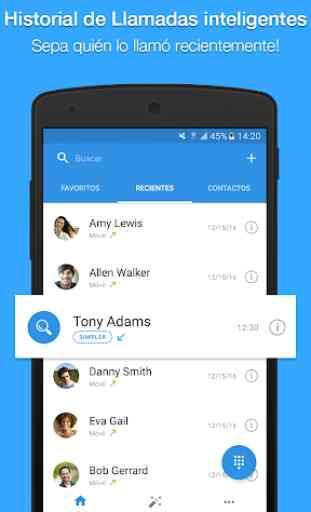 Simpler: Contactos, teléfono y bloqueo de llamadas 2