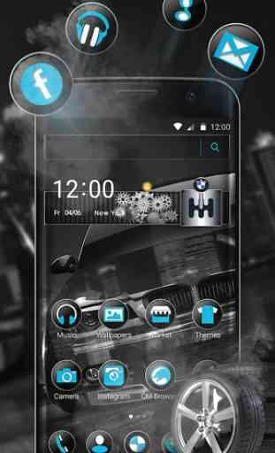 Black BMW Theme 1