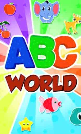 ABC Song: video de rimas, juegos, fonética 2