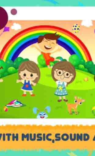 ABC Song: video de rimas, juegos, fonética 3