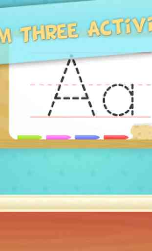 ABC Tracing for Preschool Kids Free Phonics Game 1