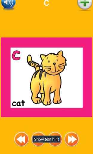 Alfabeto Inglés para niños 2