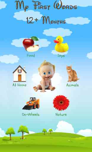My First Words: Baby learning apps for infants 1