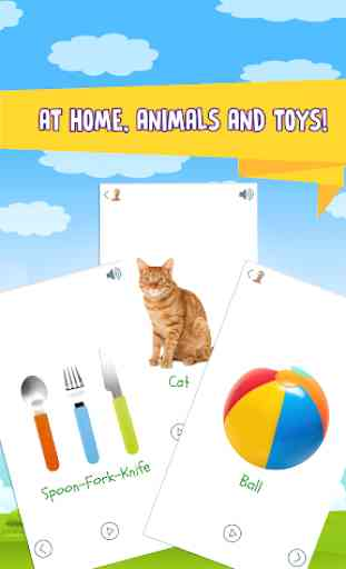 My First Words: Baby learning apps for infants 2