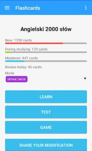 Super Flashcards, Learn words 3