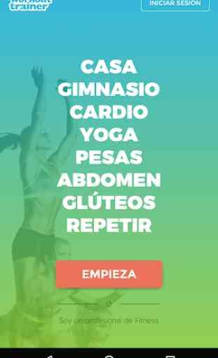 Entrenador Personal: Workouts! 1