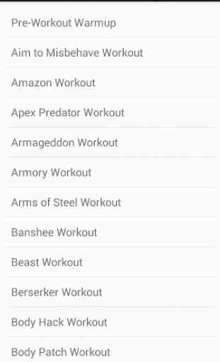 Pocket Workouts by DAREBEE 4