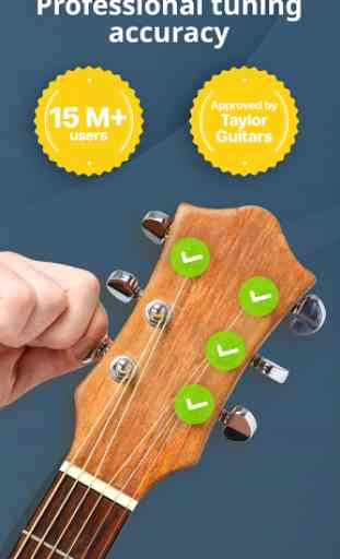 Afinador Cromático Gratis: Guitarra, Ukelele, Bajo 1