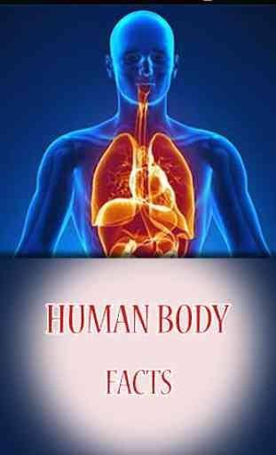 Human Body Amazing Facts 1
