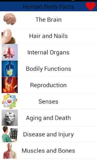 Human Body Amazing Facts 2