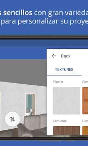 Sueco diseño de hogar 3D 2