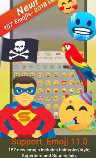 ai. type Emoji Keyboard plugin (Android) image 1