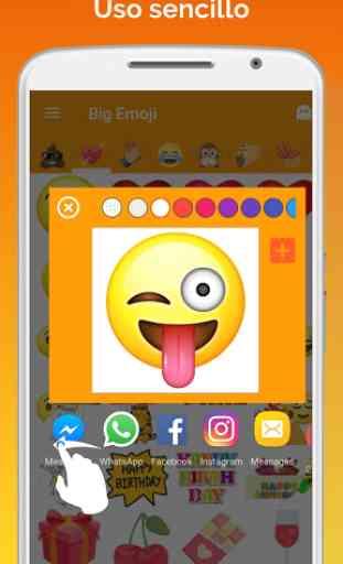 Big Emoji (Android) image 4