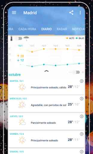 AccuWeather: pronóstico y alertas del tiempo 2