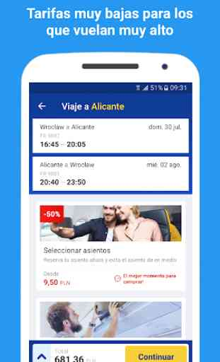 Ryanair - Tarifas más baratas 3
