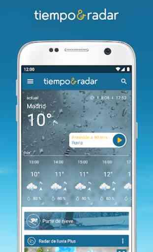 Tiempo & Radar: alarma de lluvia, tiempo 14 días 1