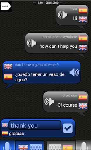 Traductor para conversaciones 1