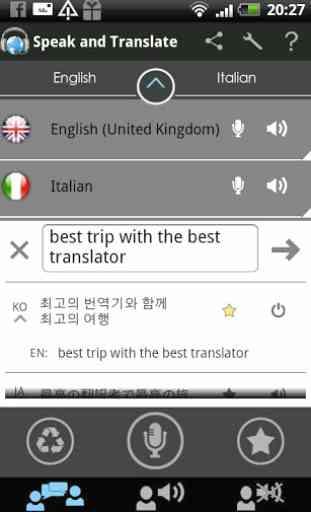 Traductor Speak & Translate 3