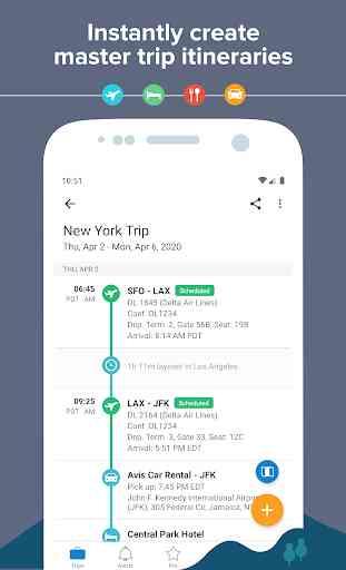 TripIt: Travel Planner 2