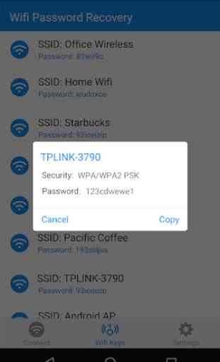 Wifi gratuito Contraseña 4