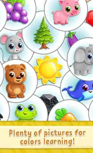 Colores para niños: Juegos educativos y divertidos 3
