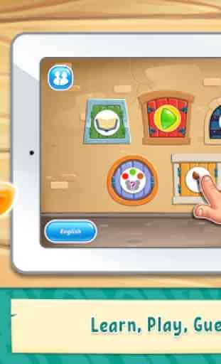 Colores para niños: Juegos educativos y divertidos 4