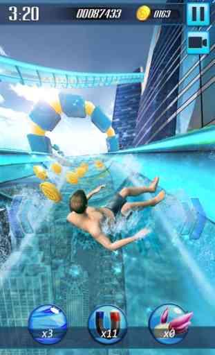 Tobogán acuático 3D 1