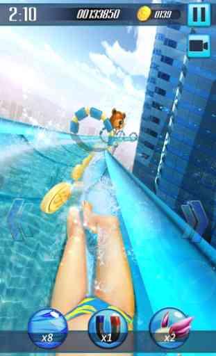 Tobogán acuático 3D 2