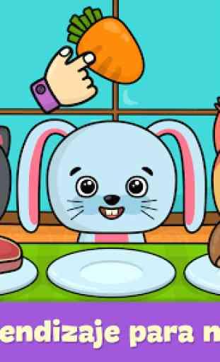 Juegos de niños para bebés de 2 - 5 años 1