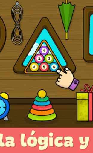 Juegos de niños para bebés de 2 - 5 años 3