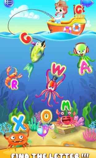 Juegos para niños ABC Kids – sonidos y abecedario 1