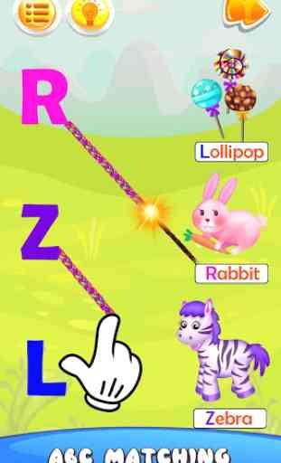 Juegos para niños ABC Kids – sonidos y abecedario 3