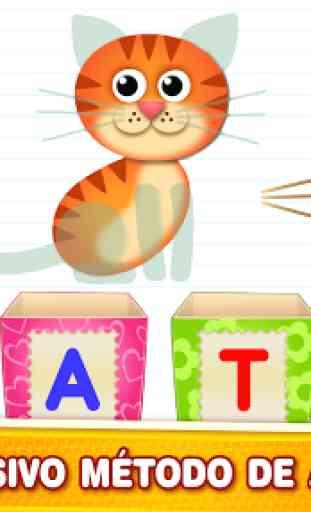 Letras en cajas! Juegos de aprendizaje abecedario! 2