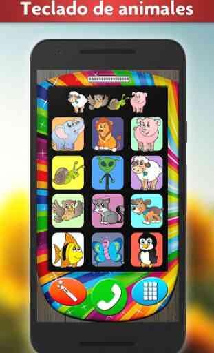 Mi Celular - Juego para Bebés con Animales Bonitos 2