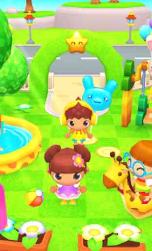 Happy Daycare Stories - School playhouse baby care 1