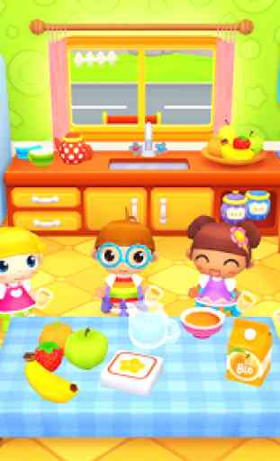 Happy Daycare Stories - School playhouse baby care 3