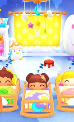 Happy Daycare Stories - School playhouse baby care 4
