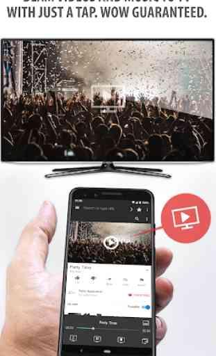 Tubio - Vídeos de web a TV, Chromecast, Airplay 1