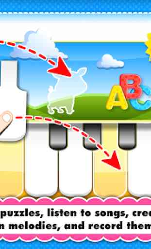 Baby Piano games for 2 year olds Toddler Kids LITE 2