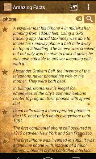 Daily Amazing World Facts OFFLINE 1