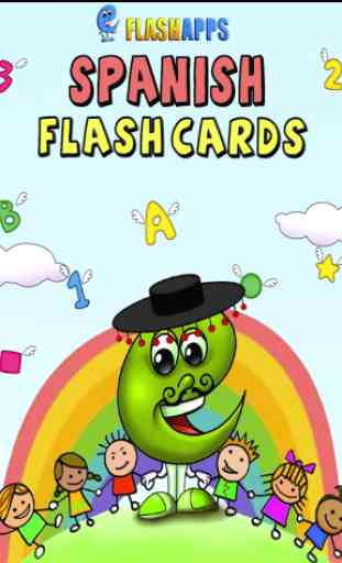 Tarjetas españolas para niños 1
