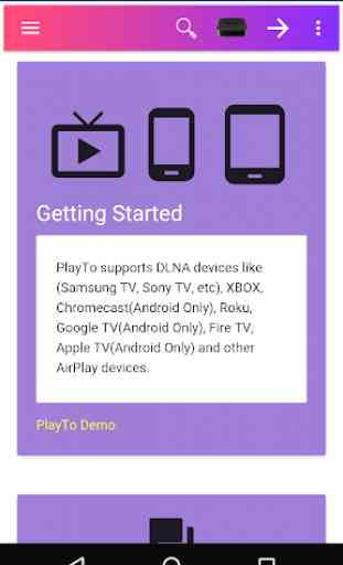 PlayTo Samsung TV 1