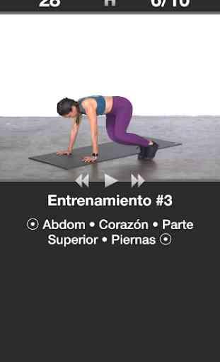 Entrenamiento Diario Cardio - Rutinas fitness 3