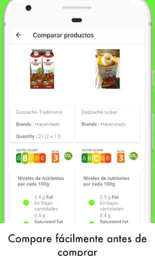 Open Food Facts- Escanear para obtener Nutri-Score 3