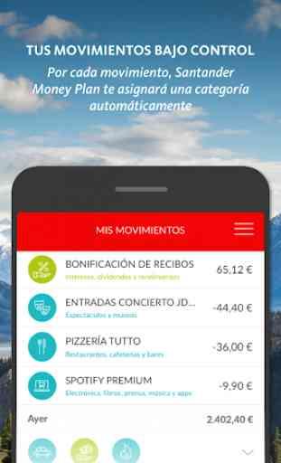 Santander Money Plan 2