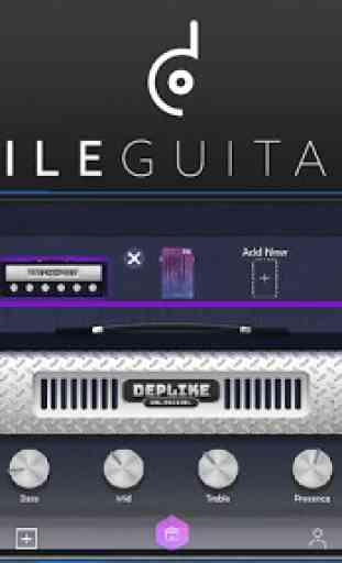 Amp de guitarra y efectos 1